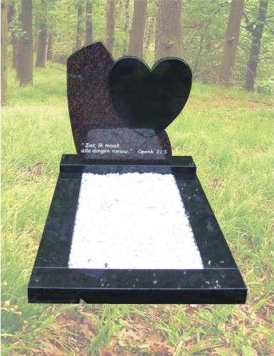 K1 – Kindergrafsteen hartje