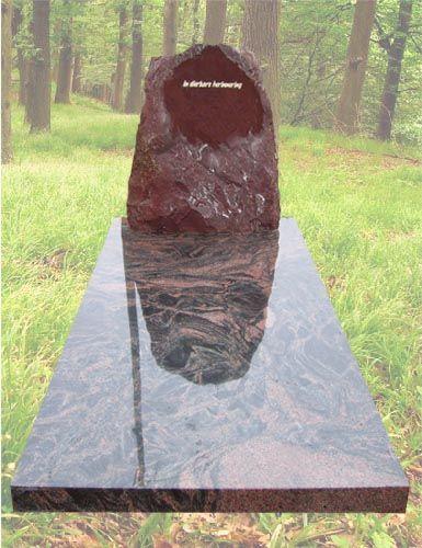 R14 – Ruwe grafsteen wasa