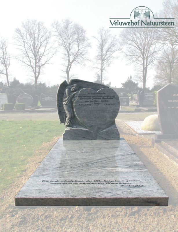 E55 – Grafmonument met Engel