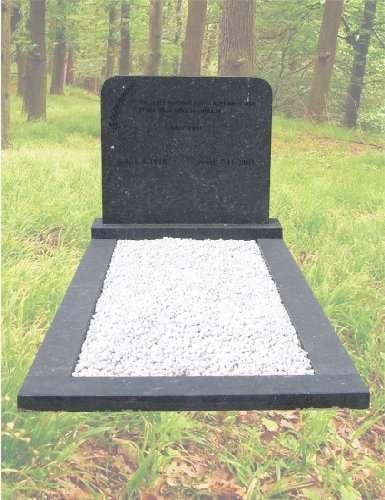 Grafsteen van hardsteen