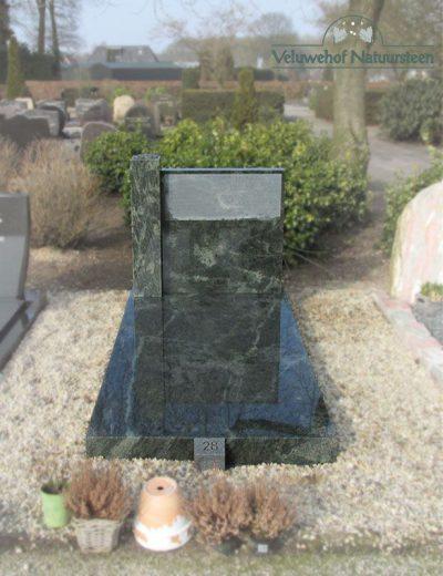 Grafsteen van graniet