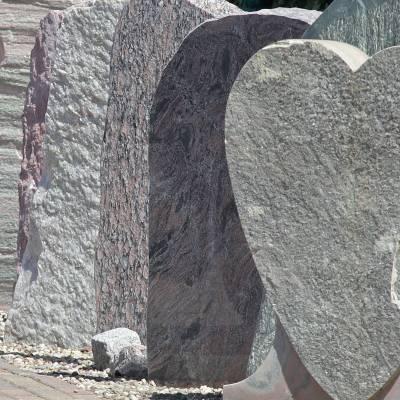 Bewerking schuren grafsteen