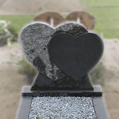 Bewerking zandstralen grafsteen