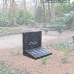 Staande grafsteen voor algemeen graf