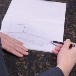 Grafsteen ontwerpen tekening