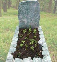 Natuurlijke grafstenen