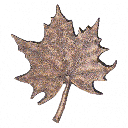 Bronzen blad